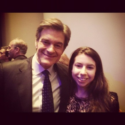 Dr. Oz and I